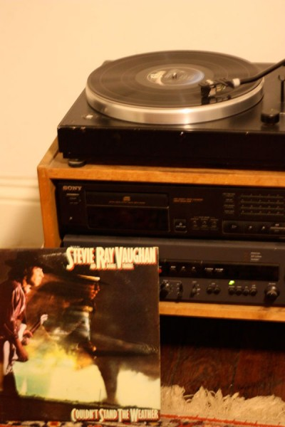 Record Player Finally Hooked Up